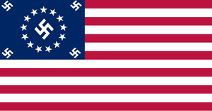 The United States of America (Nazi Puppet state) by drivanmoffitt