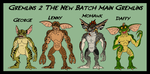Gremlins - the New Batch Gremlins by TheCiemgeCorner