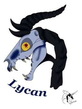 Lycan - Halloween Badge by KyuubiNicole by Cerpquake