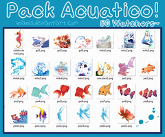 [Pack] Acuatico - 50 watchers!!! by Inianis