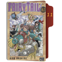 fairy Tail Tome 11 Folder by sostomate9