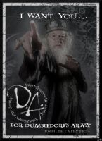 Dumbledore's Army Propaganda Poster by HugMonster341