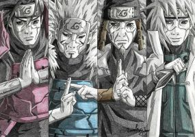 Hokages by HomolaGabor