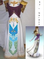 zelda cosplay complete : old by Narayu
