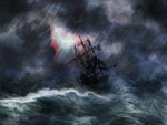 The Rage of Poseidon II by raysheaf