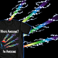 T-Shirt Submission - Who's Awesome? by Zapapplejam
