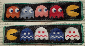 Pac-Man Bookmark by KatelynJayne