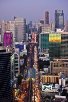colorful Bangkok by geckogr
