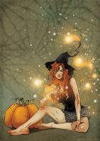 halloween witch by masebi2