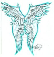 Angel Wings-tattoo by fullmetal-moonshadow