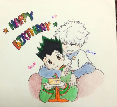 HBD Gon Freecss by sychin0401