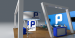 Stand 3D PAFRAMA 3 by youssefchaou