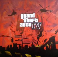 Grand Theft Auto IV by messymedia