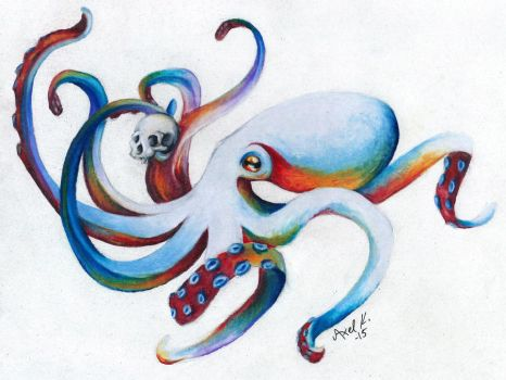 Octopus by Doctor-Axel