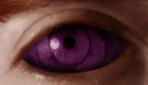Rinnegan - purple by LadySwallow