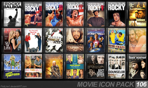 Movie Icon Pack 106 by FirstLine1