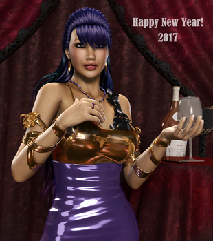 HAPPY NEW YEAR! (2017) by Furbs3D