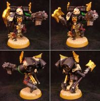 Chaplain with Jump Pack by Grombald