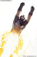 X-Men : ND - CannonBall by dtran