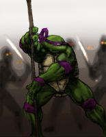 TMNT - Donatello by thedarkcloak