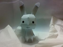 Paper craft, bunny. by omae-wa-neko