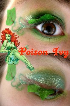 Poison Ivy Makeup by Steffmiesterx13