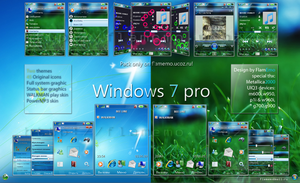 Windows 7 pro by FlamEmo