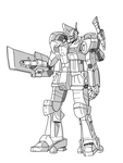 Original UC Gundam Mobile Suit: Gatsu by mazic5