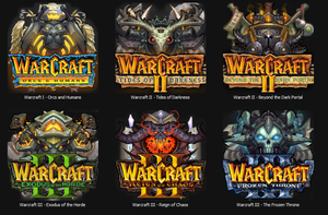 Warcraft Series Icons by D--Monik