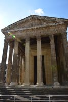 VIENNE to FRANCE and roman temple by A1Z2E3R