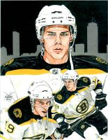 Tyler Sequin Boston Bruins by coachp42