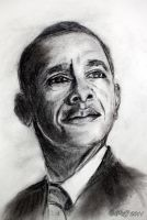 The Presidents Obama by caillteone