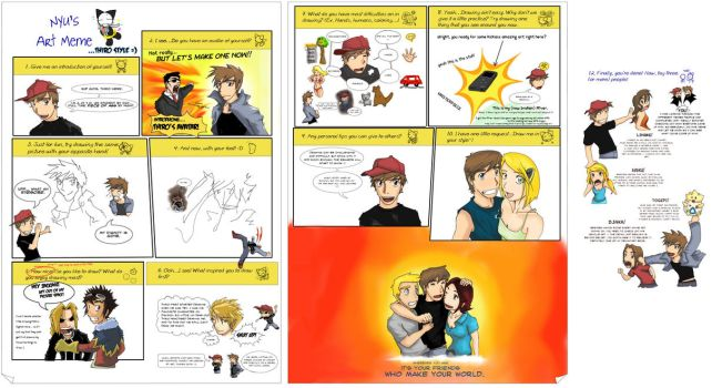 3 pages, 2 Thiros, one Meme by thiro