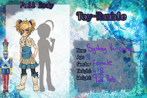 Toy-Rumble: Sydney's App by RabbitLuver21