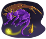 Spyro Dotd Transparent by IcelectricSpyro