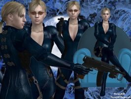 Jill is clone of Wesker by Farah456