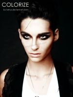 Bill Kaulitz stern shoot. by larkys