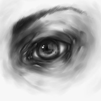 Eye sketch by reapier