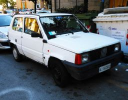 1986 Fiat Panda 750 CL by GladiatorRomanus