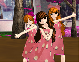 [MMD] Orange Caramel by justforcontest