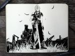 #320 Final Fantasy VII by 365-DaysOfDoodles