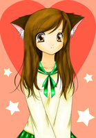 Catgirl - Coloured by MiMc