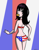 Kristin 4th of July by Zoda-Z