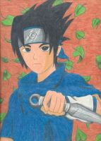 Sasuke poster cropped by ShelandryStudio