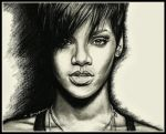 Rihanna by thewholehorizon