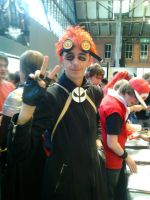 Jack spicer cosplay 2012 manchester by B0N3Z666