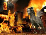 War Zone for HP by JuneButterfly-stock