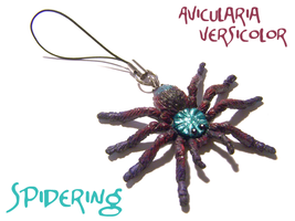 A. versicolor Phone Charm by RacieB