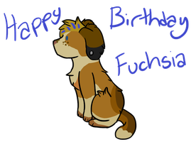 Happy Birthday Fuchsia~ :GA: by PannyPan