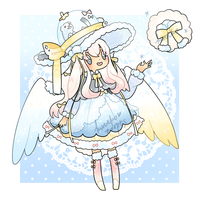 Winter Snowglobe Wish Drop Adopt - CLOSED by kuroeko-adopts